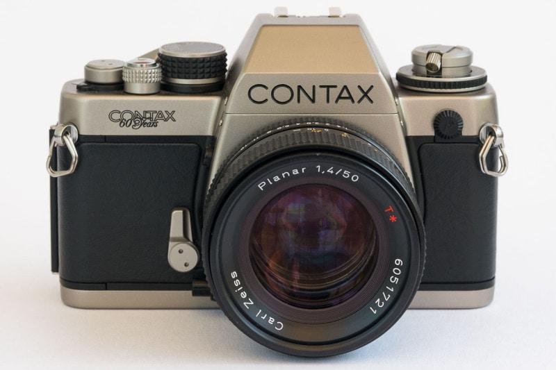 Meine Contax S2 mit dem Planar 1,4/50 von 1982.