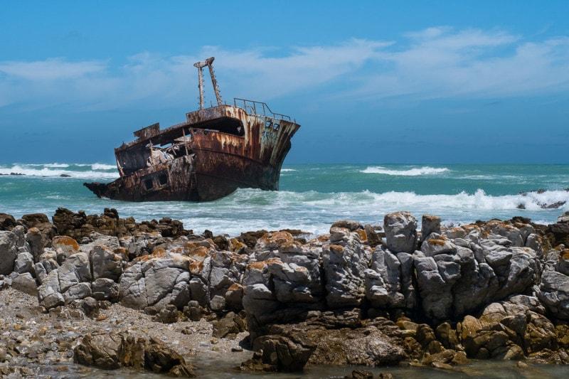 Überreste der Meisho Maru 38