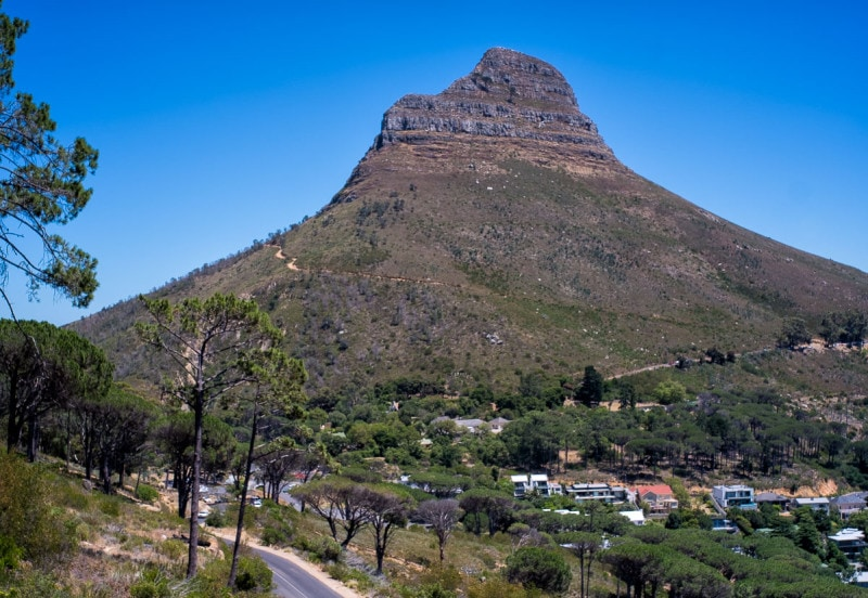 Lion`s Head, Cape Town
