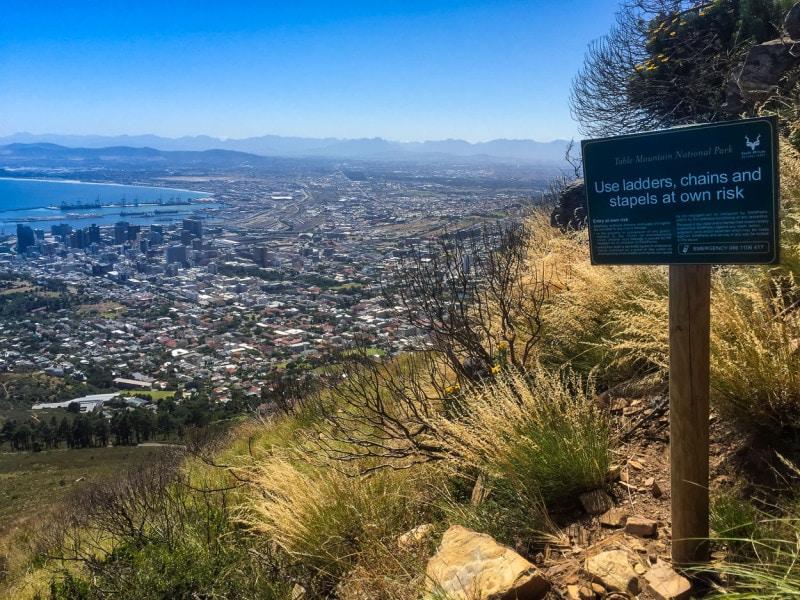 Sicht vom Lion`s Head, Cape Town