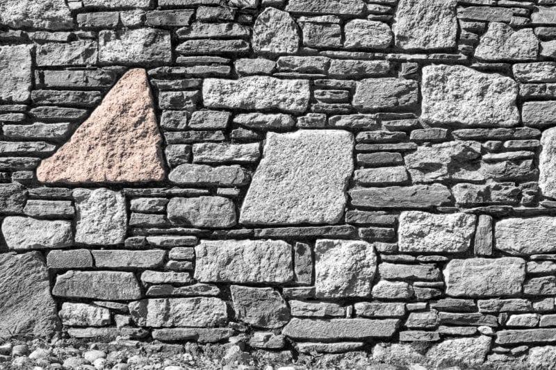 Einzigartige Natursteinmauern