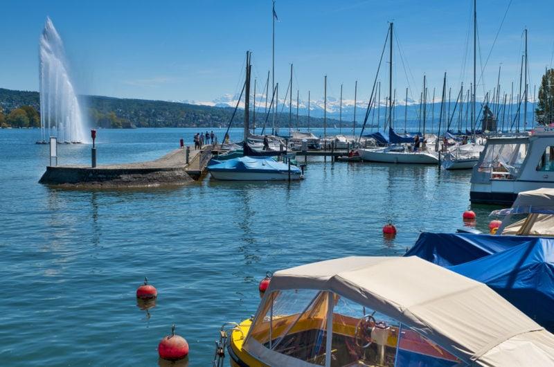 Beim Hafen Zürich-Enge