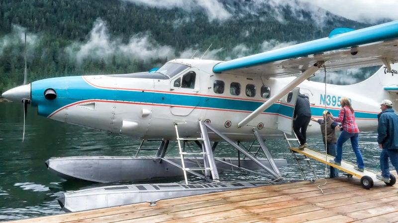In Ketchikan, Alaska - Misty Fjords - DHC-3 Otter mit Kennzeichen N3952B - Baujahr 1957