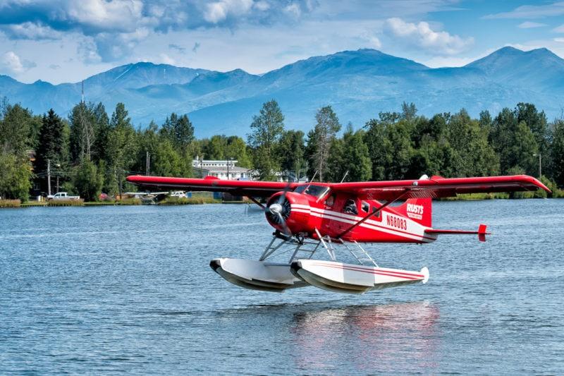 Am Lake Hood, Anchorage - De Havilland DHC-2 Beaver Mk.1 - N68083 - Baujahr 1958