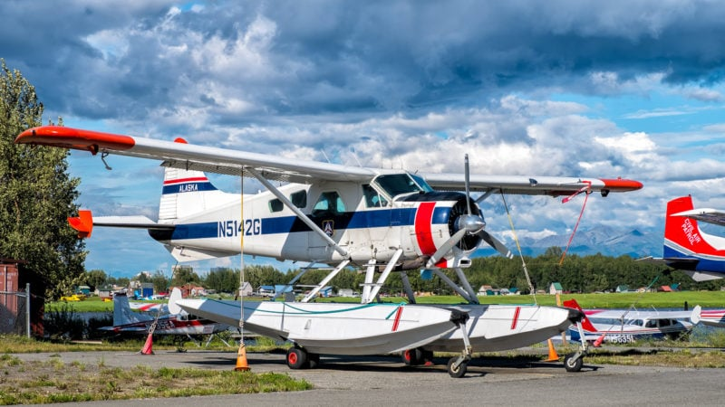 Am Lake Hood, Anchorage - De Havilland Canada DHC-2 Beaver - Kennzeichen N5142G - Baujahr 1952