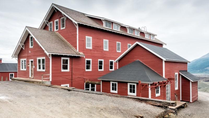 Copper Mill Town, Refrigeration Plant und West Bunkhouse