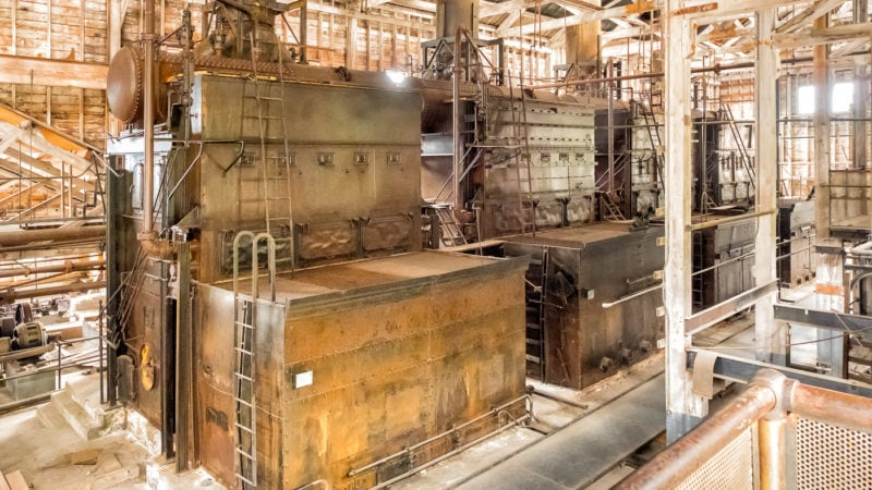 Copper Mill Town, im Powerhouse