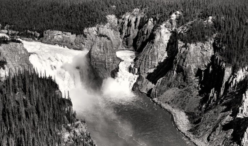 Virginia Falls, Nahanni National Park Reserve of Canada