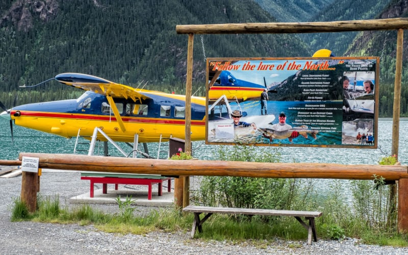 «De Havilland DHC-3T Otter» von 1958 – C-GUDK – am Muncho Lake