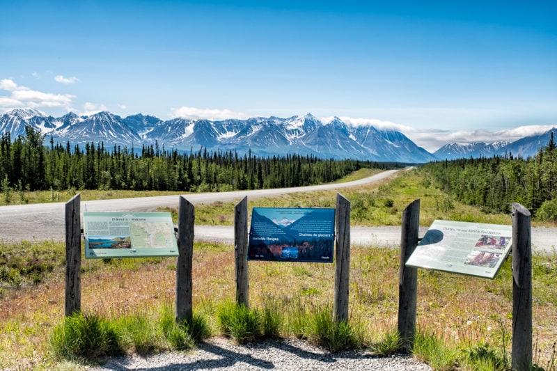 Kurz vor Haines Junction, Yukon, Kanada