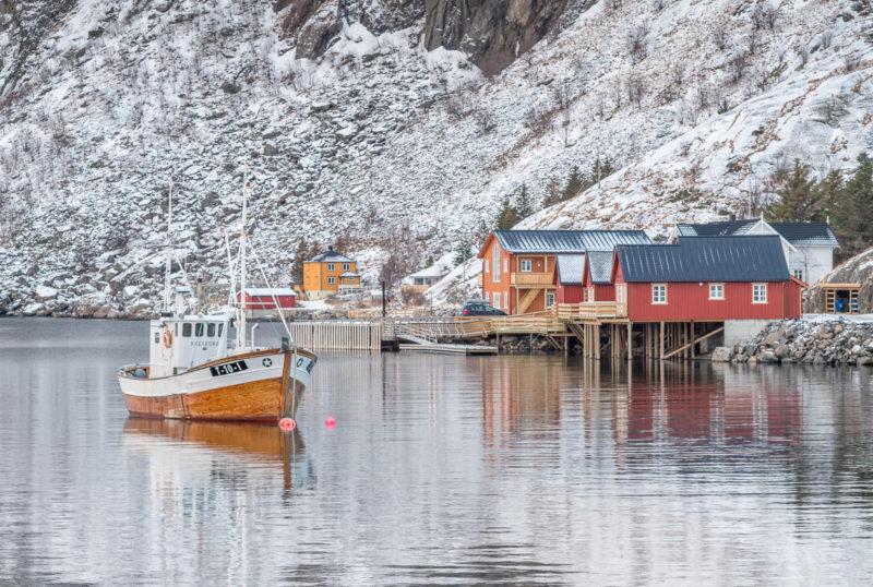 Fischerdorf Hamnoy, Lofoten, Norwegen