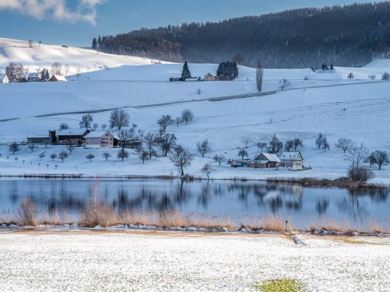 Cold and freezing – Winter am Hüttnersee.