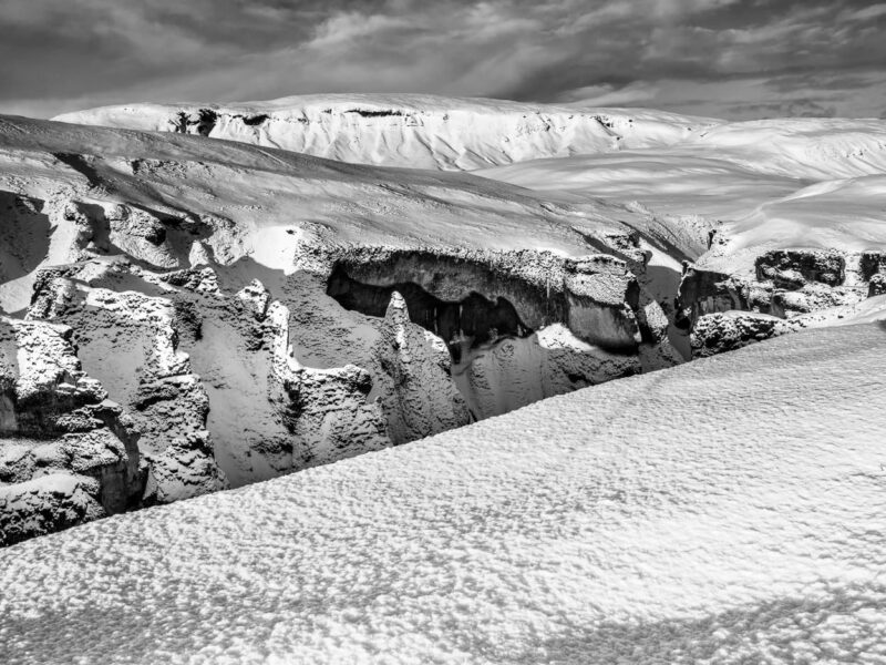 Am Fjarðarárgljúfur Canyon