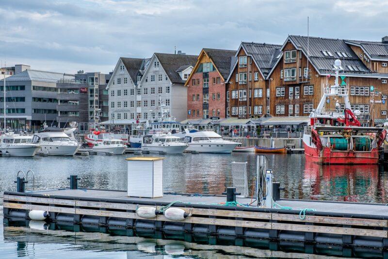 Harbor of Tromsø