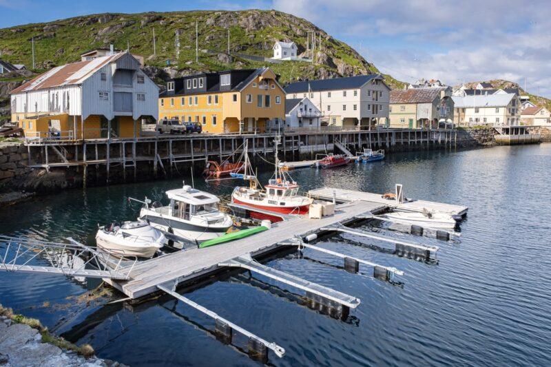 Nyksund, Vesterålen Islands, Norway.