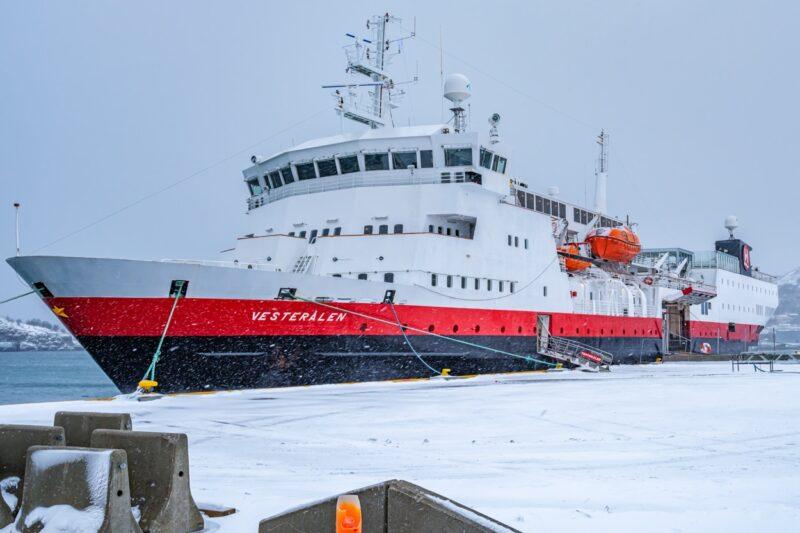 MS Vesterålen from Hurtigruten in Bodø