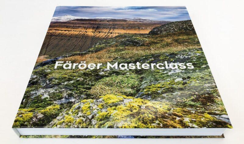 Färöer Masterclass, das fertige Fotobuch mit 60 Doppelseiten.