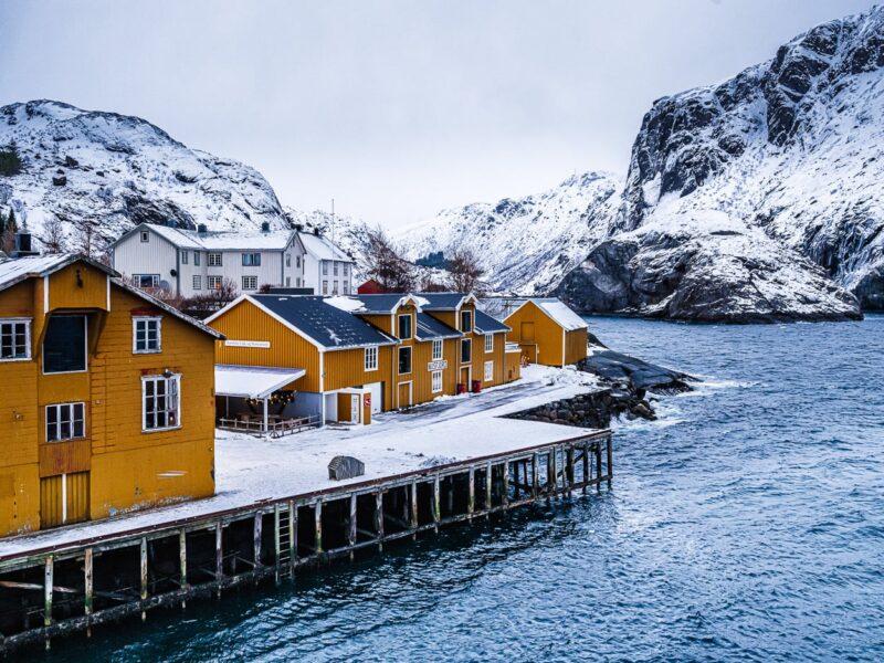 Evening in Nusfjord