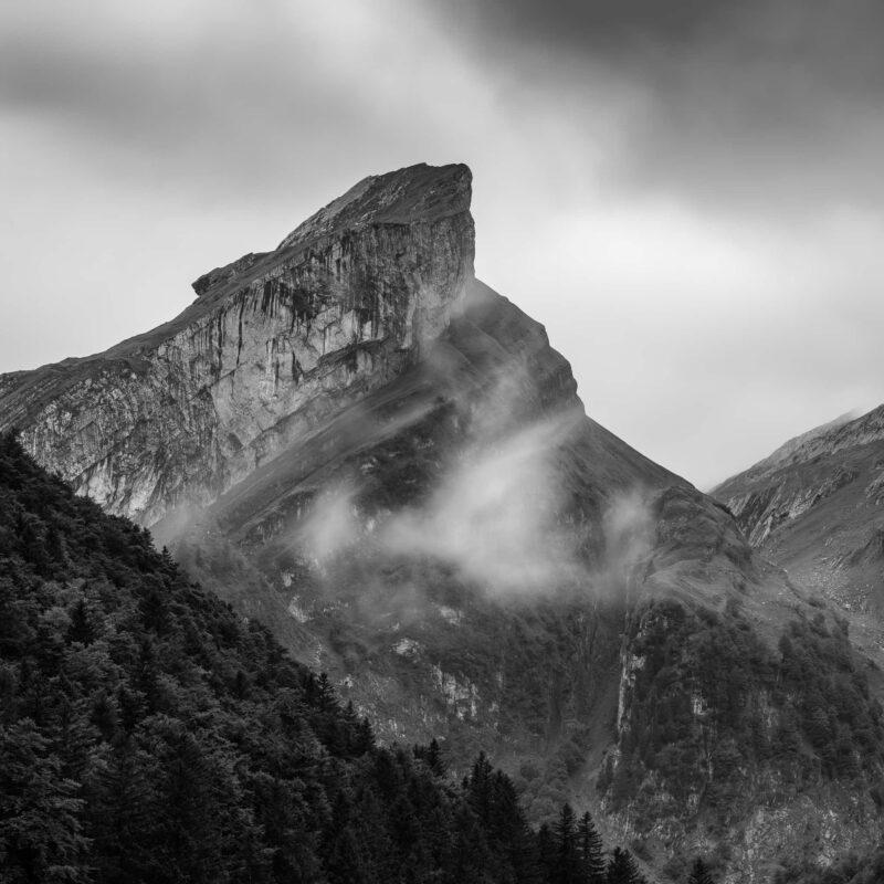 Der Rossmahd, markanter Berggipfel